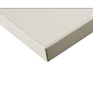 "100 Series 1-1/4"" Self-Edge Laminate Table Top- 30"" x 30"" Square"