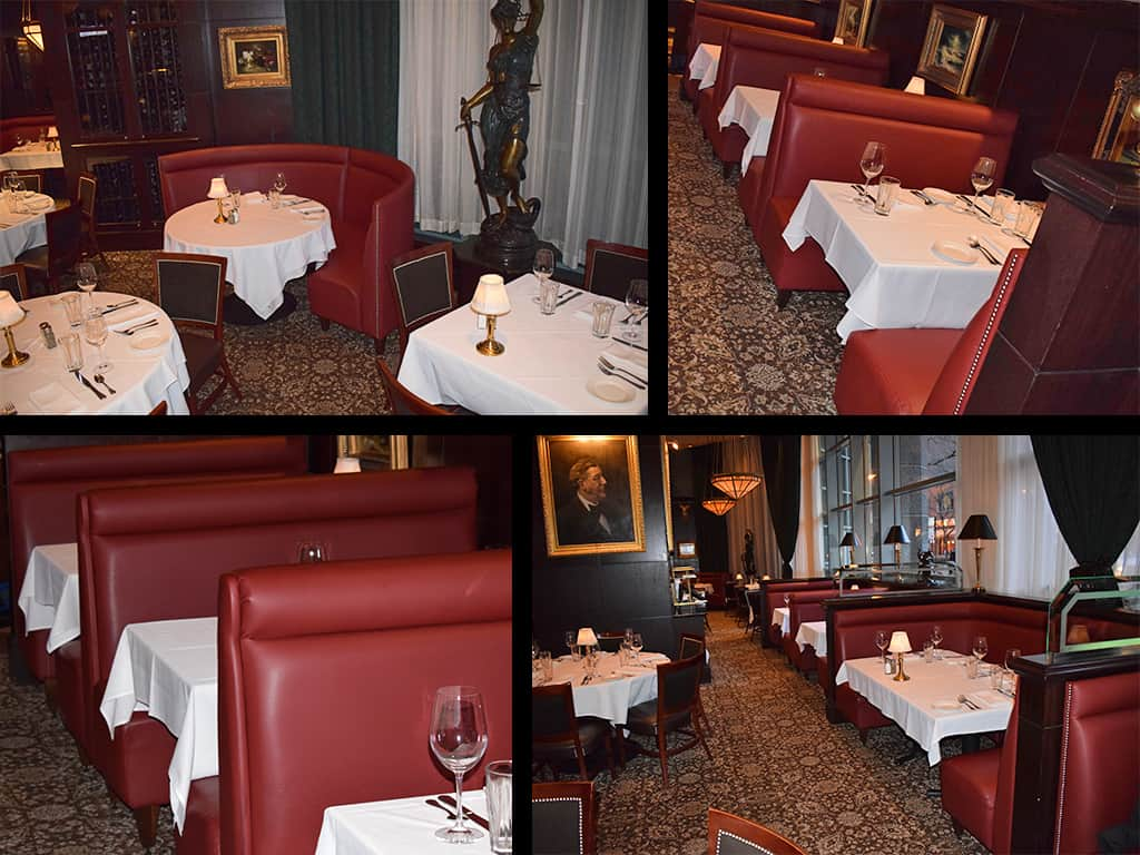 Capital Grille Chicago- Install collage