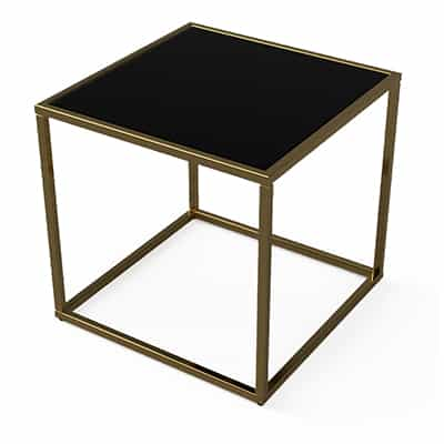Moments small square table by Table Logix